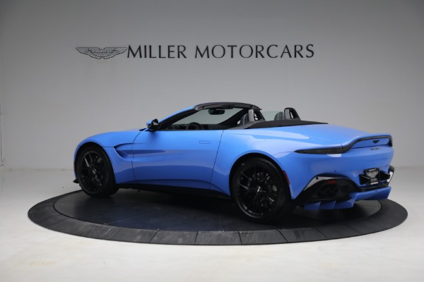 New 2021 Aston Martin Vantage Roadster for sale $186,386 at Aston Martin of Greenwich in Greenwich CT 06830 3