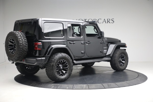 Used 2020 Jeep Wrangler Unlimited Sahara for sale Sold at Aston Martin of Greenwich in Greenwich CT 06830 10