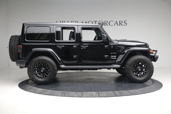 Used 2020 Jeep Wrangler Unlimited Sahara for sale Sold at Aston Martin of Greenwich in Greenwich CT 06830 11