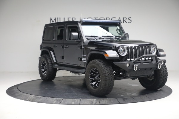 Used 2020 Jeep Wrangler Unlimited Sahara for sale Sold at Aston Martin of Greenwich in Greenwich CT 06830 13