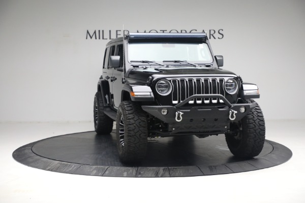 Used 2020 Jeep Wrangler Unlimited Sahara for sale Sold at Aston Martin of Greenwich in Greenwich CT 06830 14
