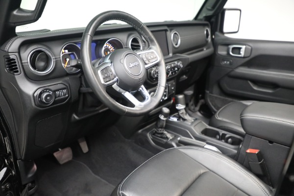 Used 2020 Jeep Wrangler Unlimited Sahara for sale Sold at Aston Martin of Greenwich in Greenwich CT 06830 19