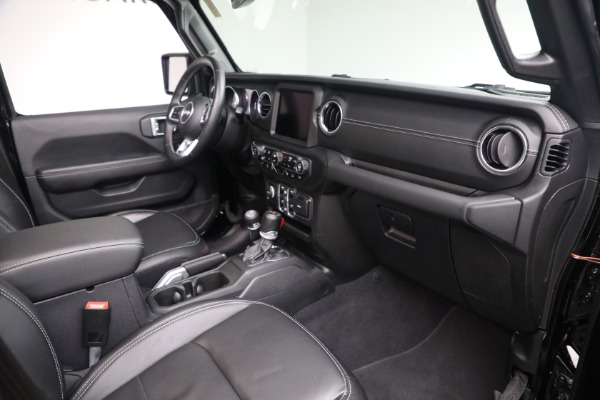 Used 2020 Jeep Wrangler Unlimited Sahara for sale Sold at Aston Martin of Greenwich in Greenwich CT 06830 20