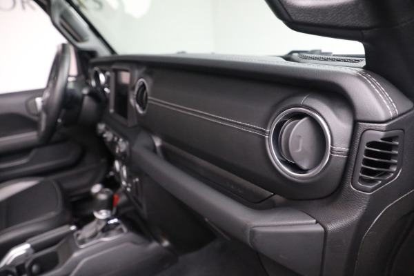 Used 2020 Jeep Wrangler Unlimited Sahara for sale Sold at Aston Martin of Greenwich in Greenwich CT 06830 21