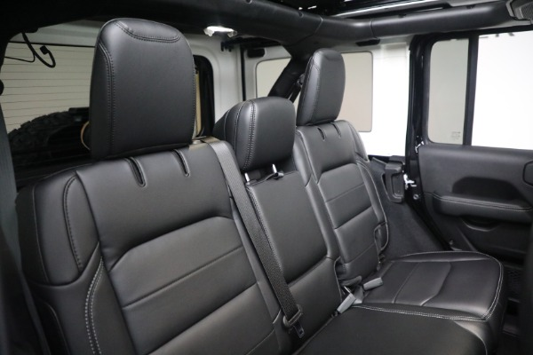 Used 2020 Jeep Wrangler Unlimited Sahara for sale Sold at Aston Martin of Greenwich in Greenwich CT 06830 24