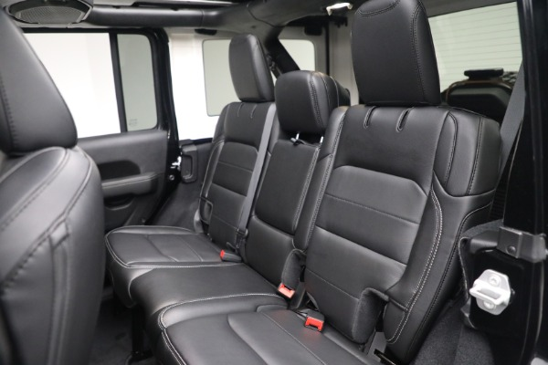 Used 2020 Jeep Wrangler Unlimited Sahara for sale Sold at Aston Martin of Greenwich in Greenwich CT 06830 25