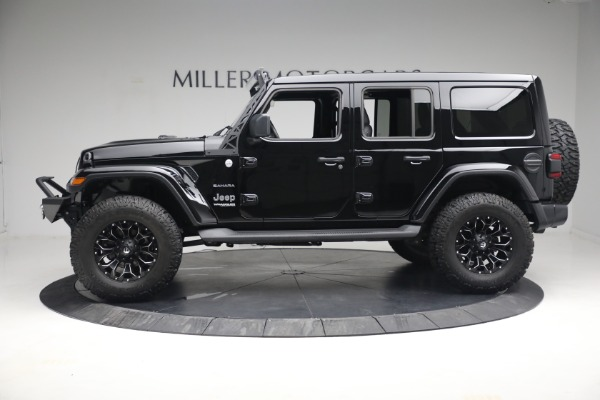 Used 2020 Jeep Wrangler Unlimited Sahara for sale Sold at Aston Martin of Greenwich in Greenwich CT 06830 4
