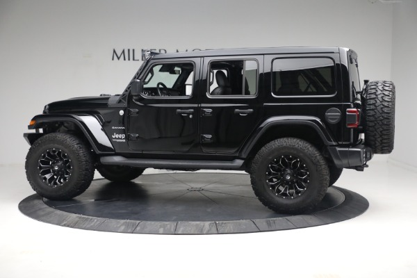 Used 2020 Jeep Wrangler Unlimited Sahara for sale Sold at Aston Martin of Greenwich in Greenwich CT 06830 5