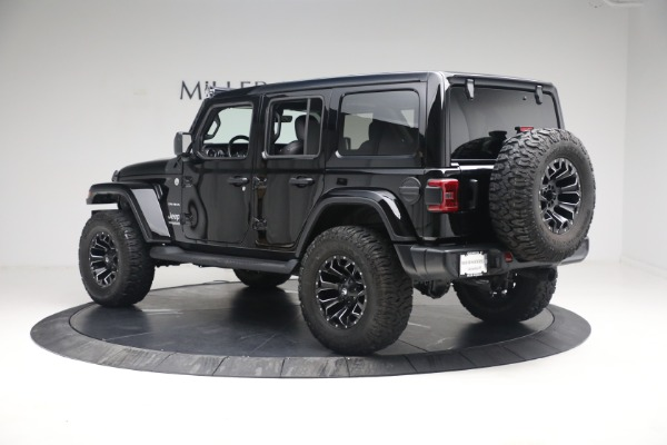 Used 2020 Jeep Wrangler Unlimited Sahara for sale Sold at Aston Martin of Greenwich in Greenwich CT 06830 6