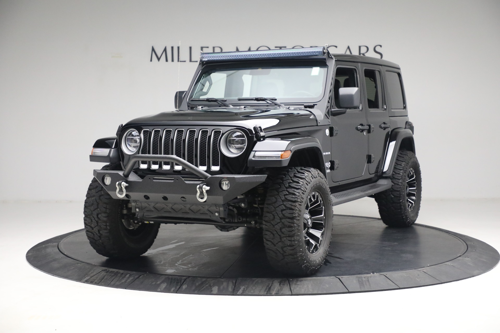 Used 2020 Jeep Wrangler Unlimited Sahara for sale Sold at Aston Martin of Greenwich in Greenwich CT 06830 1