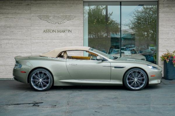 Used 2015 Aston Martin DB9 Volante for sale $119,990 at Aston Martin of Greenwich in Greenwich CT 06830 3