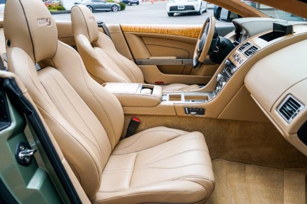 Used 2015 Aston Martin DB9 Volante for sale $119,990 at Aston Martin of Greenwich in Greenwich CT 06830 6