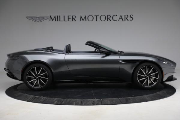 New 2021 Aston Martin DB11 Volante for sale $260,286 at Aston Martin of Greenwich in Greenwich CT 06830 10