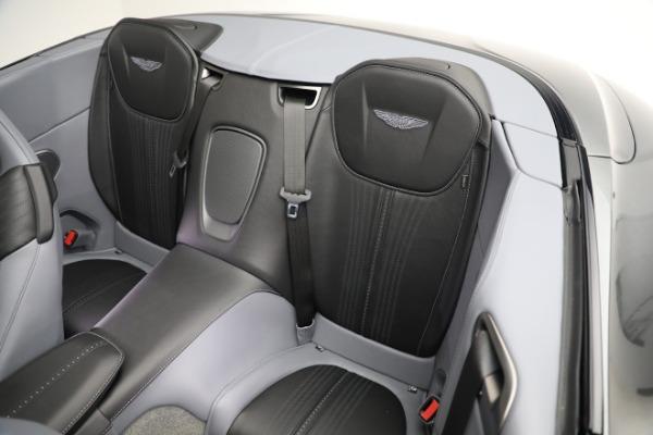 New 2021 Aston Martin DB11 Volante for sale $260,286 at Aston Martin of Greenwich in Greenwich CT 06830 19