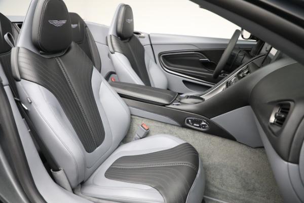 New 2021 Aston Martin DB11 Volante for sale $260,286 at Aston Martin of Greenwich in Greenwich CT 06830 22