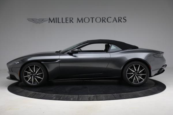 New 2021 Aston Martin DB11 Volante for sale $260,286 at Aston Martin of Greenwich in Greenwich CT 06830 24