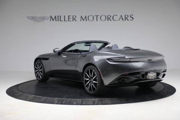 New 2021 Aston Martin DB11 Volante for sale $260,286 at Aston Martin of Greenwich in Greenwich CT 06830 6