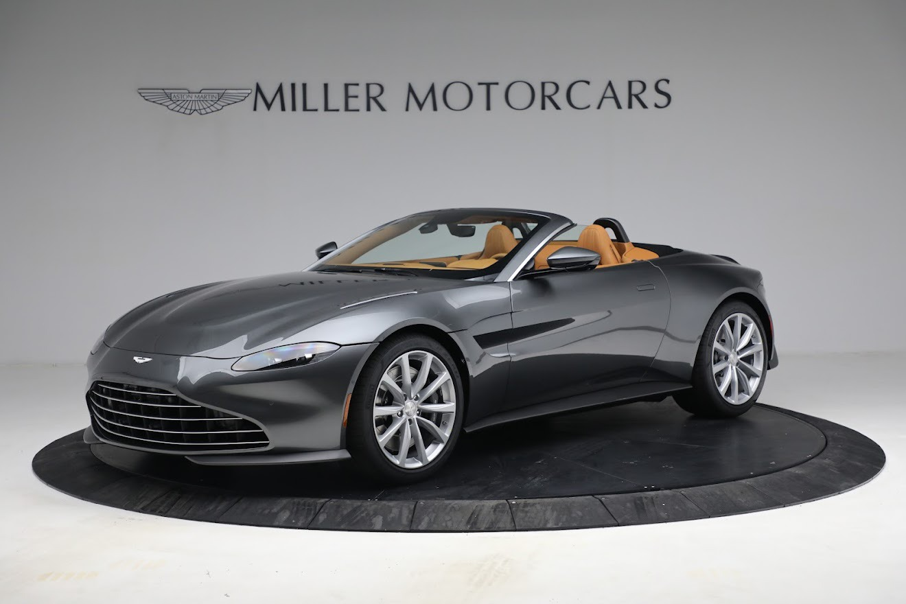 New 2021 Aston Martin Vantage Roadster for sale $174,586 at Aston Martin of Greenwich in Greenwich CT 06830 1
