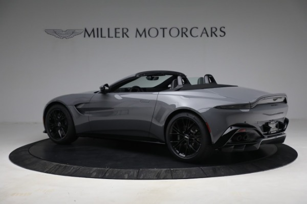 New 2021 Aston Martin Vantage Roadster for sale $180,286 at Aston Martin of Greenwich in Greenwich CT 06830 3