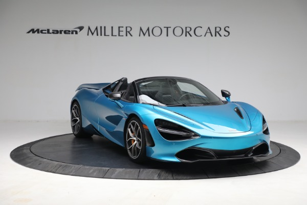 Used 2020 McLaren 720S Spider for sale $334,900 at Aston Martin of Greenwich in Greenwich CT 06830 10