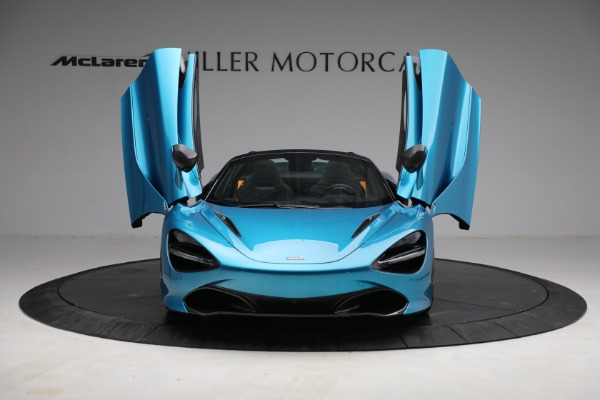 Used 2020 McLaren 720S Spider for sale $334,900 at Aston Martin of Greenwich in Greenwich CT 06830 12