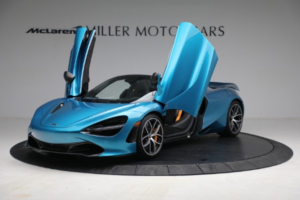 Used 2020 McLaren 720S Spider for sale $334,900 at Aston Martin of Greenwich in Greenwich CT 06830 13