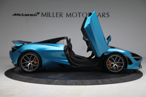 Used 2020 McLaren 720S Spider for sale $334,900 at Aston Martin of Greenwich in Greenwich CT 06830 18