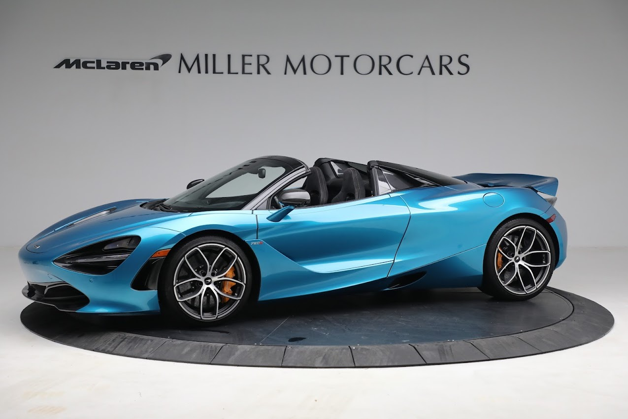 Used 2020 McLaren 720S Spider for sale $334,900 at Aston Martin of Greenwich in Greenwich CT 06830 1