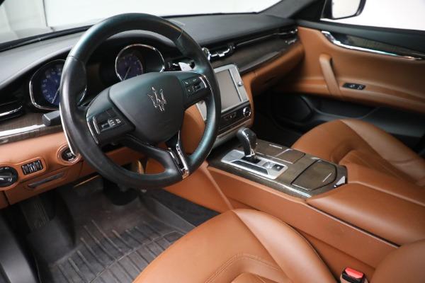 Used 2016 Maserati Quattroporte S Q4 for sale $46,900 at Aston Martin of Greenwich in Greenwich CT 06830 13