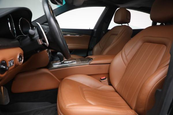 Used 2016 Maserati Quattroporte S Q4 for sale $46,900 at Aston Martin of Greenwich in Greenwich CT 06830 14