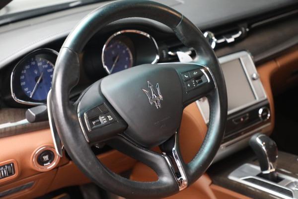 Used 2016 Maserati Quattroporte S Q4 for sale $46,900 at Aston Martin of Greenwich in Greenwich CT 06830 17