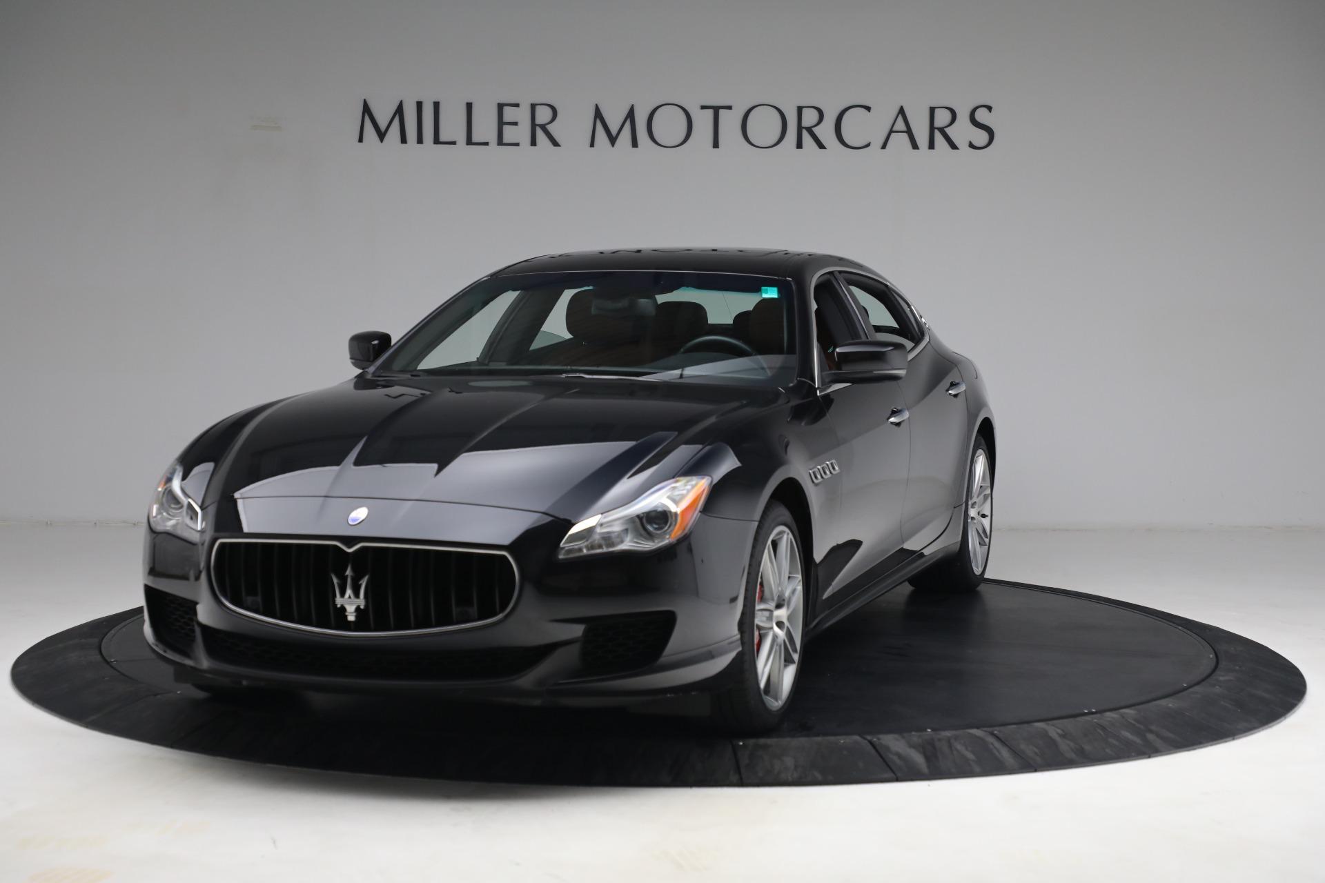 Used 2016 Maserati Quattroporte S Q4 for sale $46,900 at Aston Martin of Greenwich in Greenwich CT 06830 1
