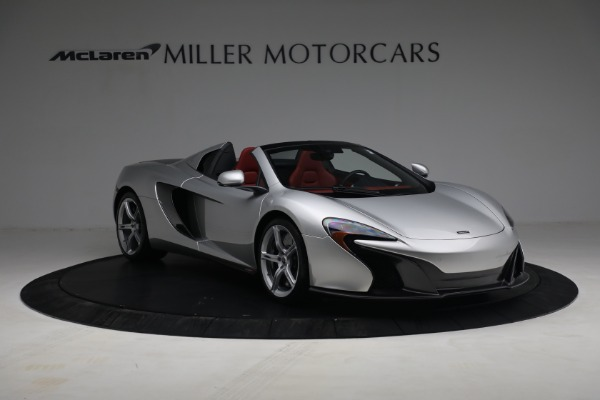 Used 2015 McLaren 650S Spider for sale $179,990 at Aston Martin of Greenwich in Greenwich CT 06830 10