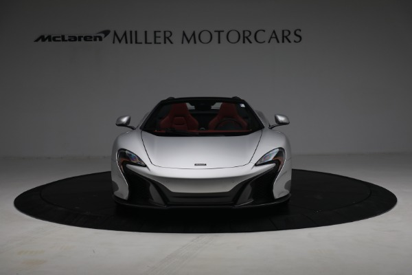 Used 2015 McLaren 650S Spider for sale $179,990 at Aston Martin of Greenwich in Greenwich CT 06830 11