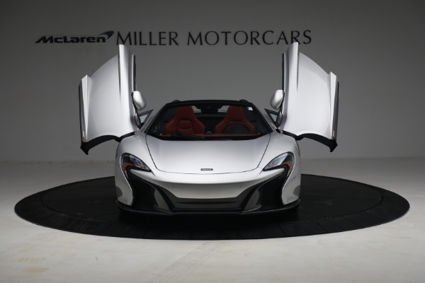 Used 2015 McLaren 650S Spider for sale $179,990 at Aston Martin of Greenwich in Greenwich CT 06830 12