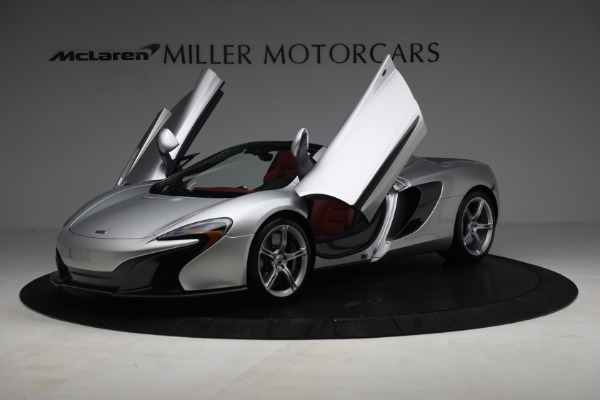 Used 2015 McLaren 650S Spider for sale $179,990 at Aston Martin of Greenwich in Greenwich CT 06830 13