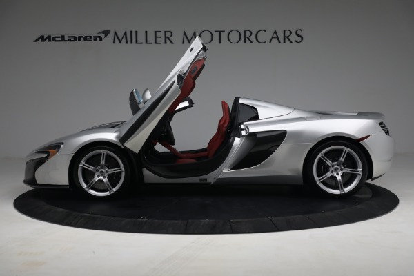 Used 2015 McLaren 650S Spider for sale $179,990 at Aston Martin of Greenwich in Greenwich CT 06830 14