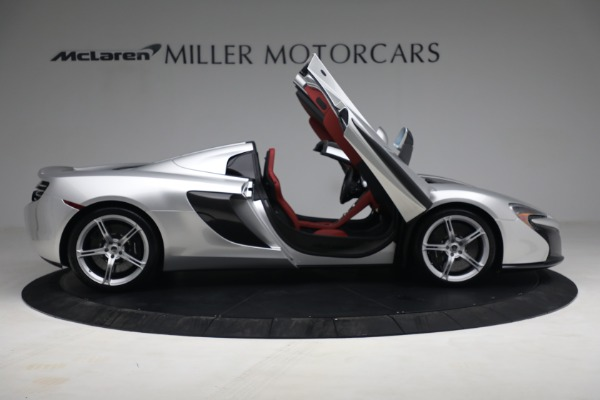 Used 2015 McLaren 650S Spider for sale $179,990 at Aston Martin of Greenwich in Greenwich CT 06830 18