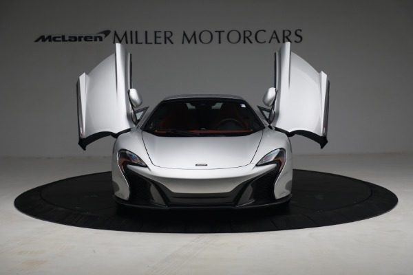 Used 2015 McLaren 650S Spider for sale $179,990 at Aston Martin of Greenwich in Greenwich CT 06830 21
