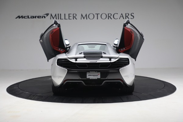 Used 2015 McLaren 650S Spider for sale $179,990 at Aston Martin of Greenwich in Greenwich CT 06830 24