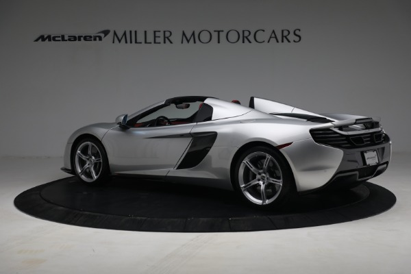 Used 2015 McLaren 650S Spider for sale $179,990 at Aston Martin of Greenwich in Greenwich CT 06830 3