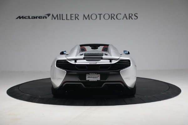 Used 2015 McLaren 650S Spider for sale $179,990 at Aston Martin of Greenwich in Greenwich CT 06830 5