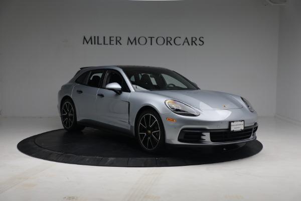 Used 2018 Porsche Panamera 4 Sport Turismo for sale $97,900 at Aston Martin of Greenwich in Greenwich CT 06830 11