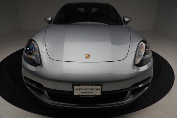 Used 2018 Porsche Panamera 4 Sport Turismo for sale $97,900 at Aston Martin of Greenwich in Greenwich CT 06830 13