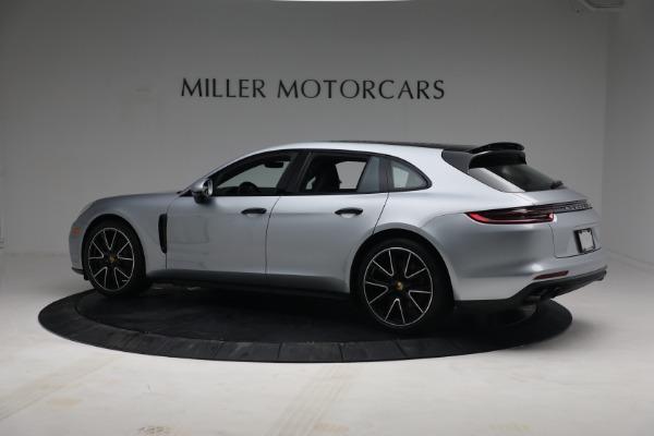 Used 2018 Porsche Panamera 4 Sport Turismo for sale $97,900 at Aston Martin of Greenwich in Greenwich CT 06830 4