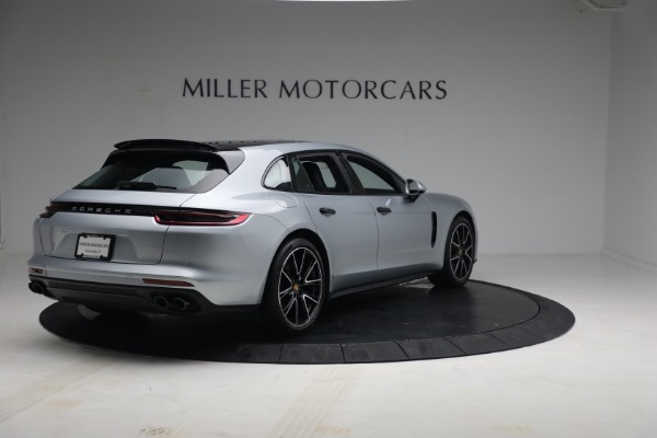 Used 2018 Porsche Panamera 4 Sport Turismo for sale $97,900 at Aston Martin of Greenwich in Greenwich CT 06830 7