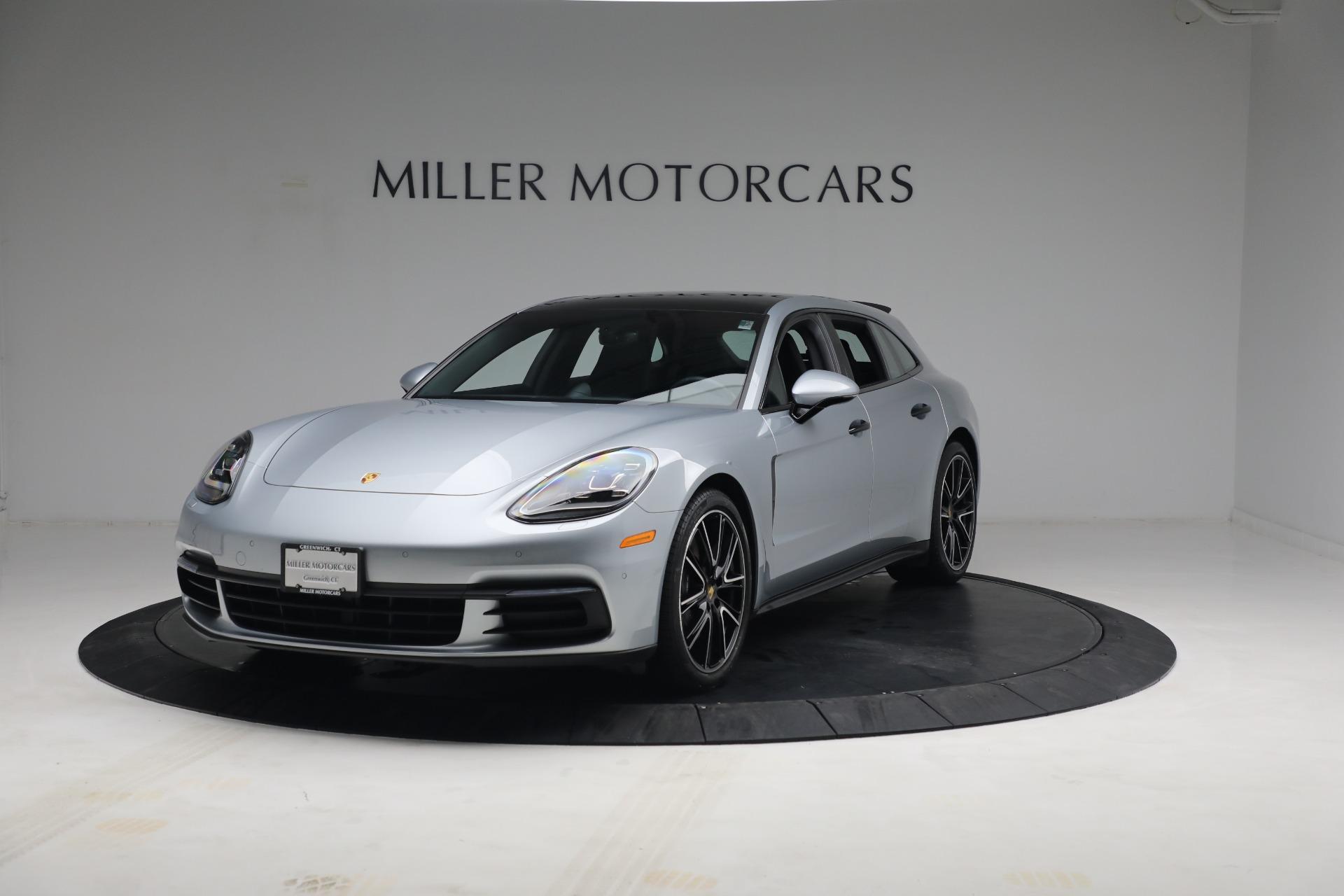 Used 2018 Porsche Panamera 4 Sport Turismo for sale $97,900 at Aston Martin of Greenwich in Greenwich CT 06830 1