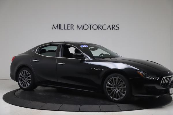 Used 2018 Maserati Ghibli SQ4 for sale $54,900 at Aston Martin of Greenwich in Greenwich CT 06830 10