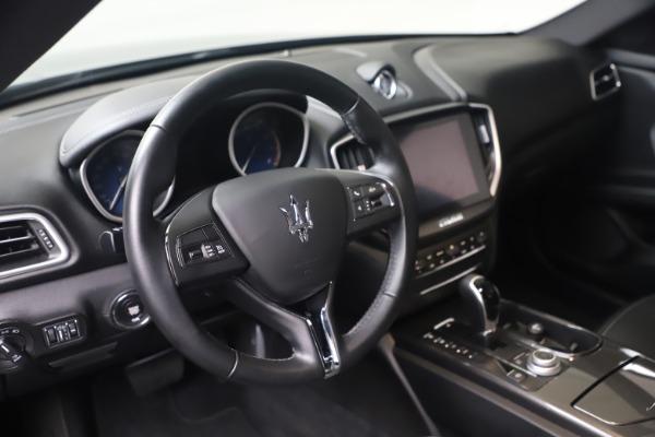 Used 2018 Maserati Ghibli SQ4 for sale $54,900 at Aston Martin of Greenwich in Greenwich CT 06830 13