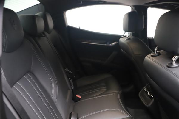 Used 2018 Maserati Ghibli SQ4 for sale $54,900 at Aston Martin of Greenwich in Greenwich CT 06830 19